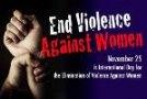 25 نوامبر روز بین المللی مبارزه با خشونت علیه زنان است